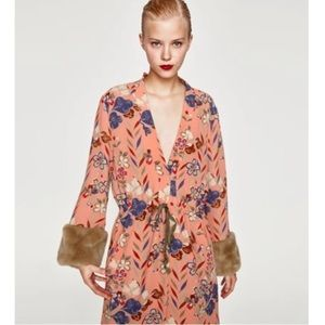 NWT Zara kimono
